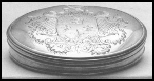 Early American Silver Snuff Box