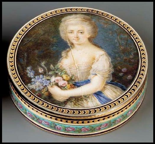 antique boite-a-portrait