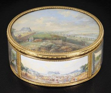 French snuffbox by Pierre-Mathis de Beaulieu