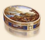 Swiss snuffbox by Jean-Louis Richter