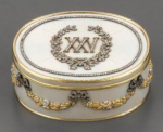Russian snuffbox by Faberge and Wigstrom