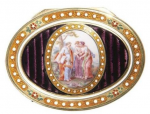 Russian snuffbox by Johann Gottlieb Schraff
