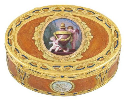 French snuffbox by Eloi-Denis Thierry