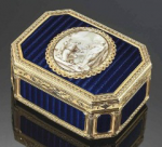 French snuffbox by Phillipe Bourlier