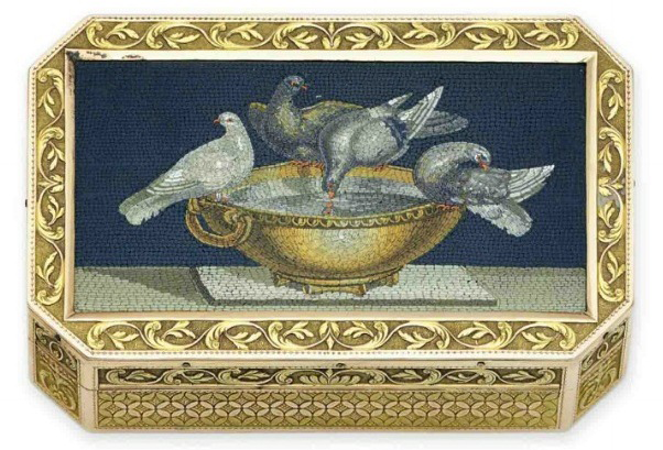 Austrian snuffbox by Anton Dudeum