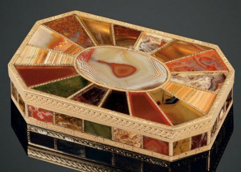 German snuffbox by Johann-Christian Neuber